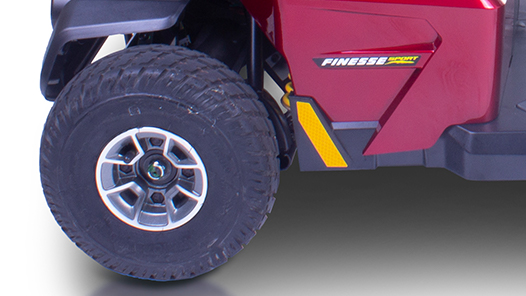 Apex Finesse Sport tyres feature